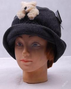 Dětská   čepice , klobouček  - (Č 117 )