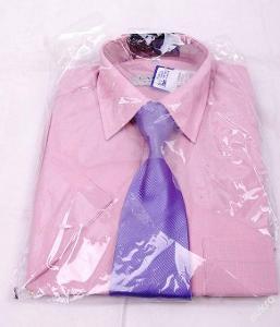 Košile pánská ,krátký  rukáv, vel. 37/38  (FO1144)