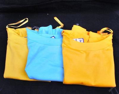 Tričko dámské, kr. rukáv -3 ks vel. 38 (FO0025)