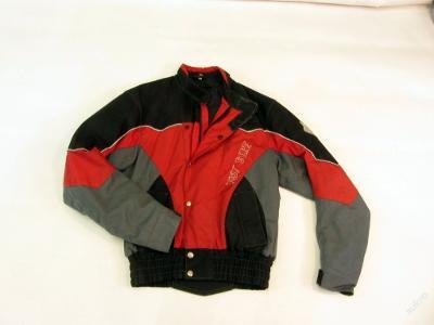 Textilní bunda CIMA vel. M - kapsy na chrániče