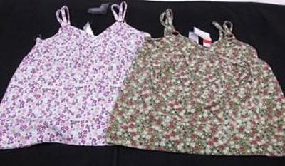 Dívčí šaty ( tílko) - 2 ks , vel. 104 (F00937)