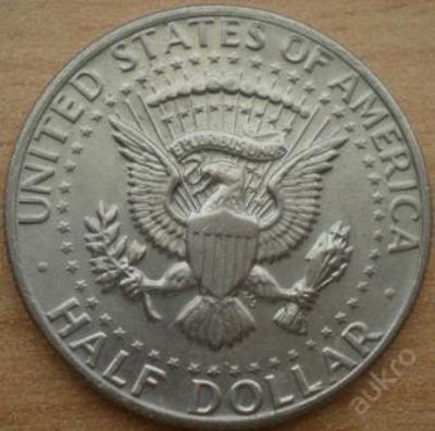 USA 1/2 Dolar 1973