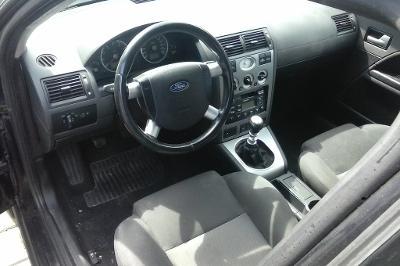 Ford Mondeo III. Palubní deska airbagy napínáky