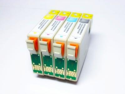 Náplně pro Epson Stylus Sx 115, 200, 205, 215, 400