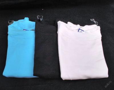 Tričko dámské, kr. rukáv -3 ks vel. 38 (FO0024)