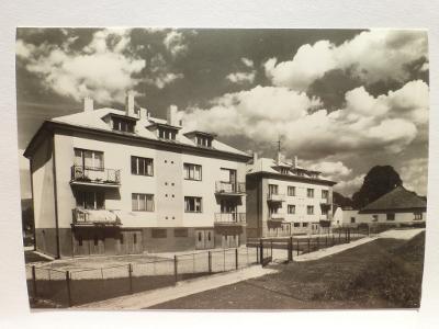 Vojnův Městec, okr. Žďár nad Sázavou - bytovky