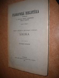 Stehlík Čestmír - Logika - 1926