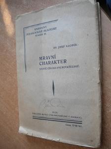 Kachník - Mravní charakter - 1930