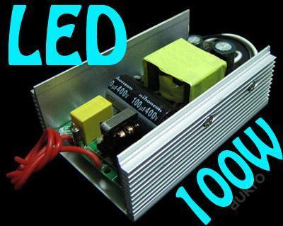 LED zdroj pro čip 100W LED - zašleme ihned !