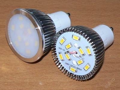 LED68 GU10 5W teplá refl 450lm (=40W) ZAŠLEME HNED