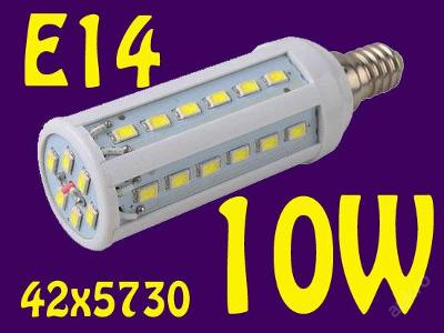 LED54 E14 bílá 10W 1200lm (=100W) ZAŠLEME HNED