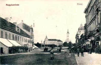Maďarsko ,Nagykanizsa 1915