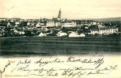 Písek 1901