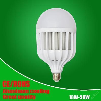 Vysoká kvalita 5730 LED žárovka E27 18W 220V bílá