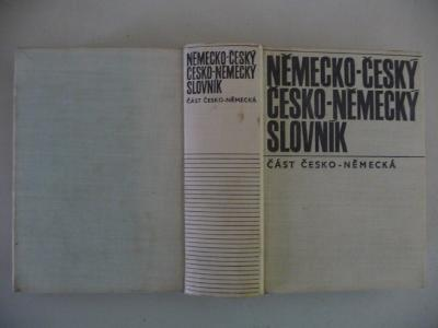 NĚMECKO-ČESKÝ / ČESKO-NĚMECKÝ SLOVNÍK - SPN 1972