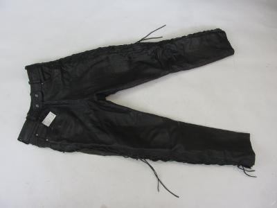Kožené šněrovací kalhoty Arizona pas: 74 cm