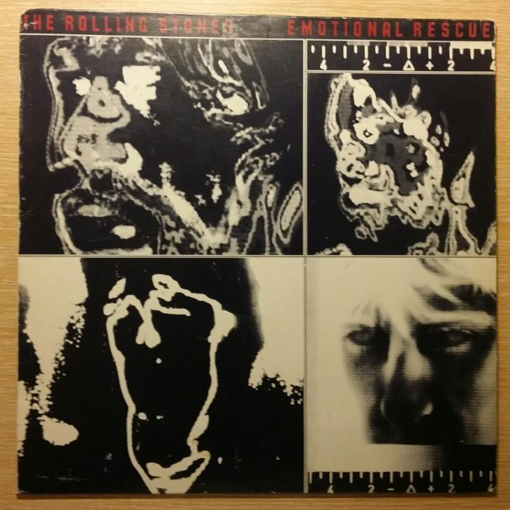 The Rolling Stones - Emotional Rescue, LP - Hudba