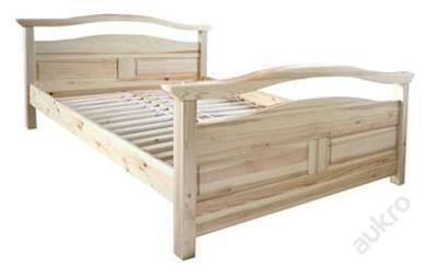 dřevěná dvojlůžková postel Delta Dok 180 barva