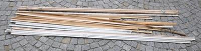 Lišty směs 100 cm - 260 cm (14556)