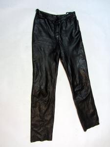 Kožené kalhoty TAIFUN - obvod pasu: 70 cm (8855)