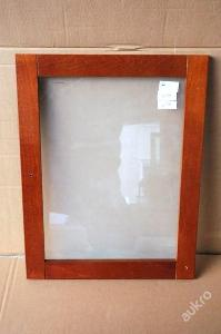 1 x dvířka, MDF deska/ sklo (6111)