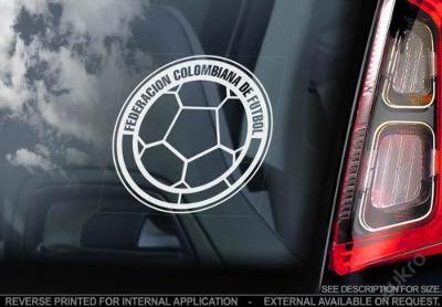 Colombia - autonálepka na sklo aj. samolepka