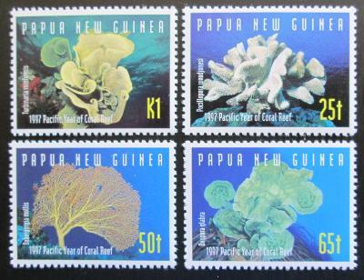 Papua Nová Guinea 1997 Korály Mi# 804-07 1130