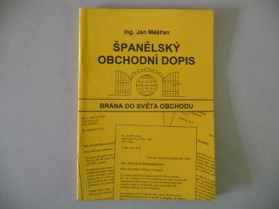 Španělský obchodní dopis - Ing. Jan Měšťan 1995