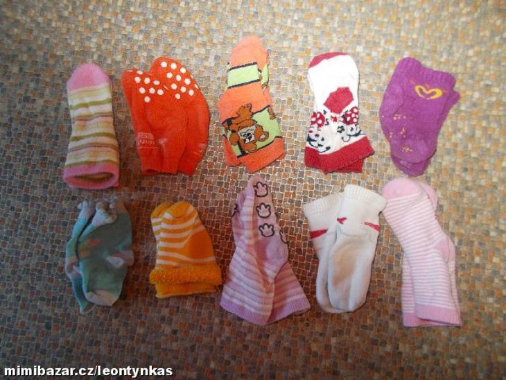 ponožky 0-6 měsíců - Oblečení
