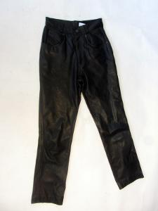 Kožené kalhoty vel. 22 - obvod pasu: 62 cm