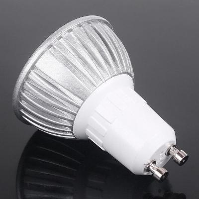 Bodová LED žárovka GU10 3W 220V teplá bílá