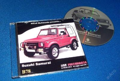 SUZUKI SAMURAI servisní příručka, katalog ND