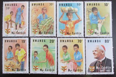Rwanda 1983 Kardinál Cardinj Mi# 1234-41 6€ 1084