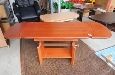 Konferenční stolek,rozkládací,nastav. výška (7077)