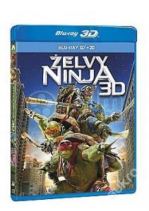 Blu-ray Želvy Ninja 3D+2D