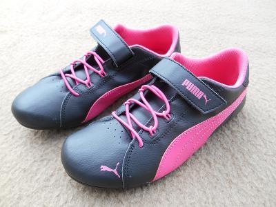 Nové dětské dívčí boty - tenisky zn. PUMA  vel. 33