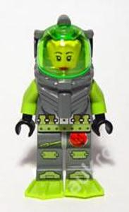 LEGO Atlantis figurka Samantha Rhodes