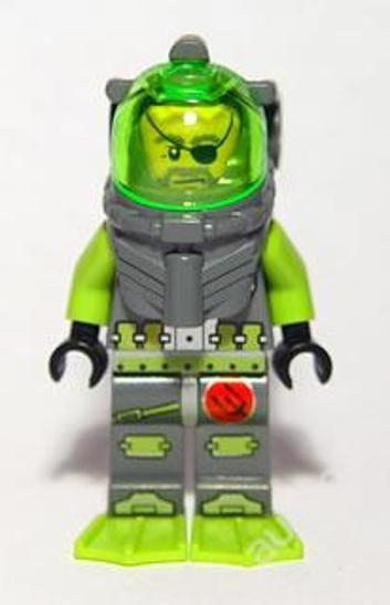 LEGO Atlantis figurka Ace Speedman - Hračky
