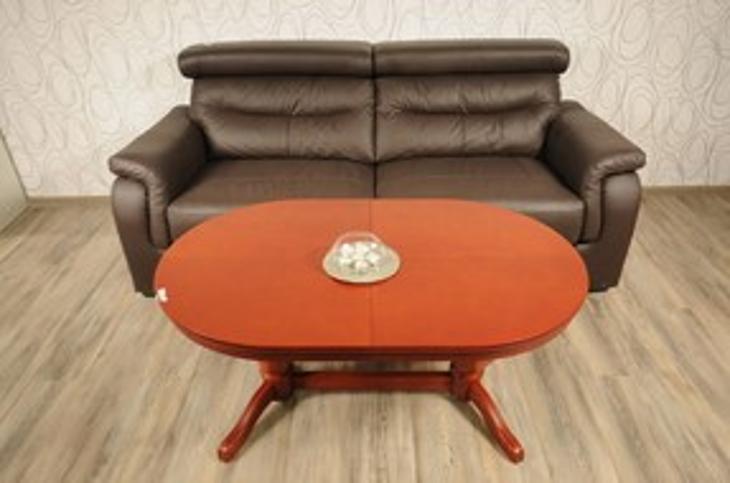 Konferenční stolek, rozkl., nastav. výška (11797A) - Nábytek