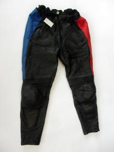 Kožené kalhoty  vel. 42 - obvod pasu: 78 cm (951