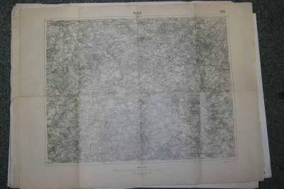 MAPA 4151- PLZEN  5.IX.1931