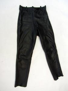 Kožené dámské kalhoty  vel. 40 - pas: 72 cm (886