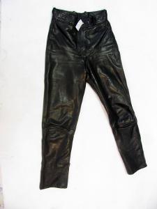 Kožené dámské kalhoty GERICKE vel. 38 - pas:70cm