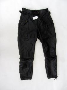 Kožené kalhoty - obvod pasu: 78 cm (8090)