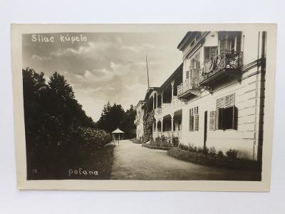 Sliač, Zvolen - polana 1929