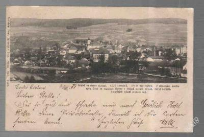 Česká Třebová panorama DA 1901
