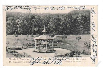 Náchod lázně Velichovky sady DA 1902