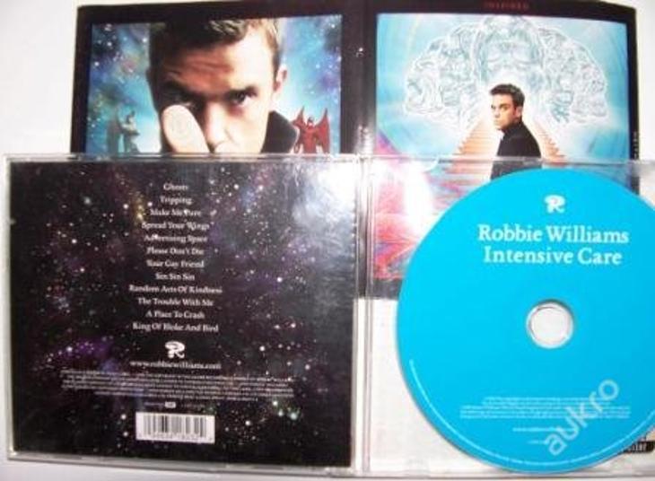 nehrané CD ROBBIE WILLIAMS - Intensive Care 2005 - Hudba