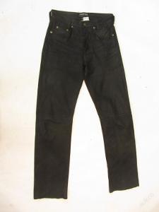 Kožené broušené kalhoty PANTERA vel. 29 - pas:74