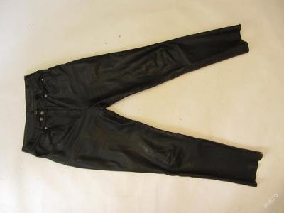 Kožené kalhoty vel. 36 POLO - obvod pasu: 74 cm